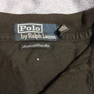 Polo by Ralph Lauren Shirts - Black Polo Shirt